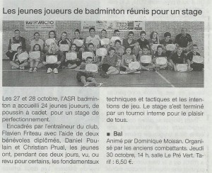 ouestfrance stage romille